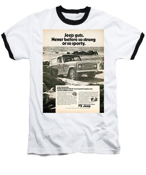 1972 Jeep Commando Baseball T-Shirt