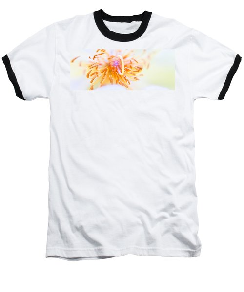 Abstract Flower Baseball T-Shirt by Ulrich Schade