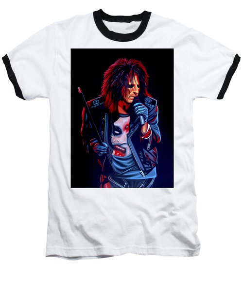 Alice Cooper  Baseball T-Shirt