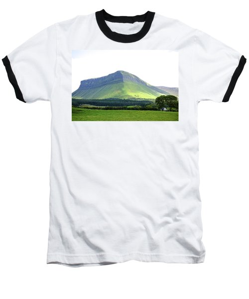 Ben Bulben Baseball T-Shirt by Charlie Brock