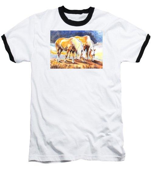 Baseball T-Shirt featuring the painting Best Pals by Carol Wisniewski