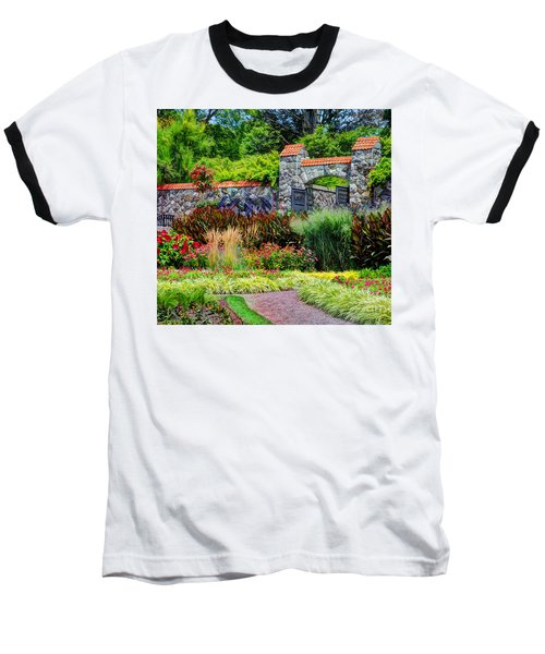 Biltmore Gardens Baseball T-Shirt by Savannah Gibbs