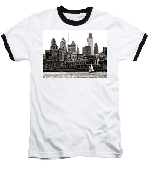 Center City Philadelphia Baseball T-Shirt
