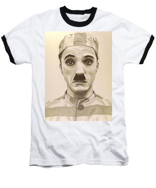 Vintage Charlie Chaplin Baseball T-Shirt by Fred Larucci