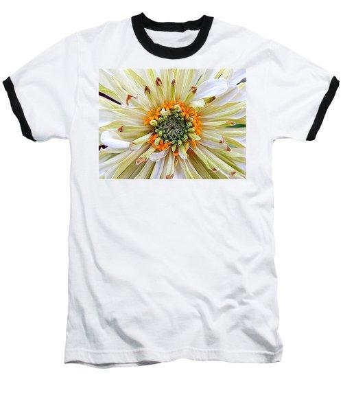 Chrysanthemum Fall In New Orleans Louisiana Baseball T-Shirt by Michael Hoard