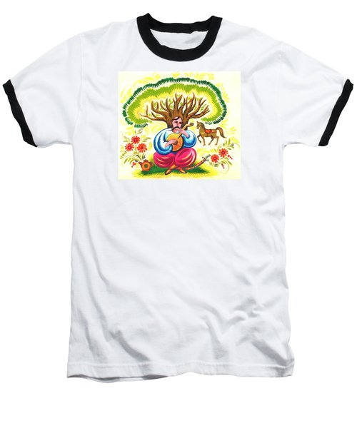 Cossack Mamay Baseball T-Shirt by Oleg Zavarzin