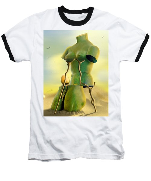 Crutches Baseball T-Shirt