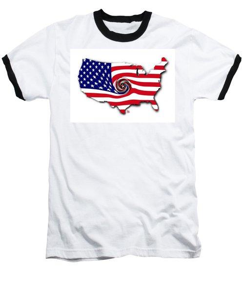 Down The Drain Baseball T-Shirt