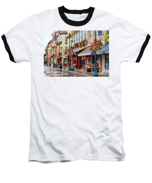 Findlay Market In Cincinnati 0009 Baseball T-Shirt
