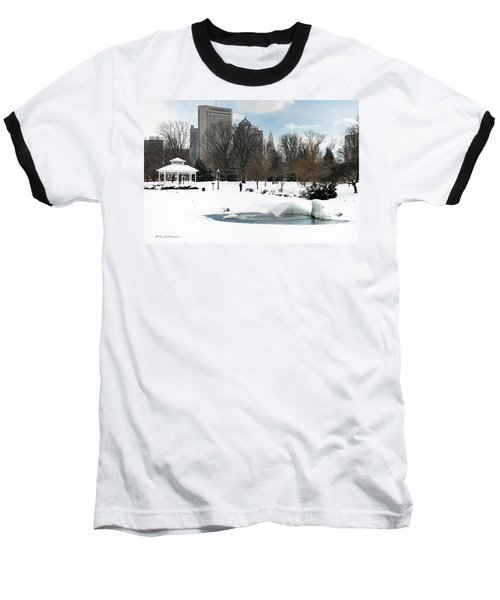 D48l3 Goodale Park Photo Baseball T-Shirt