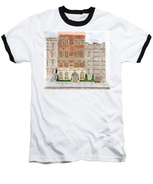 Hotel Washington Square Baseball T-Shirt