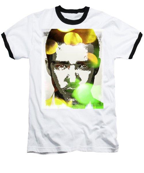 Justin Timberlake Baseball T-Shirt by Svelby Art