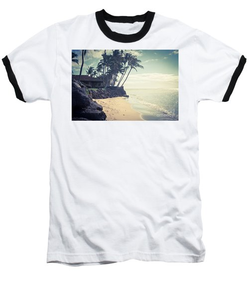 Baseball T-Shirt featuring the photograph Kihei Maui Hawaii by Sharon Mau