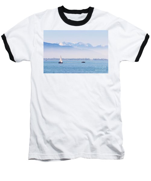 Lake Of Constance Baseball T-Shirt
