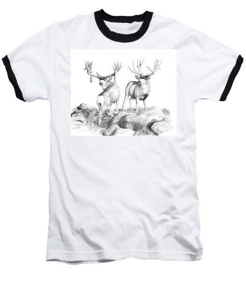 2 Muley Bucks Baseball T-Shirt
