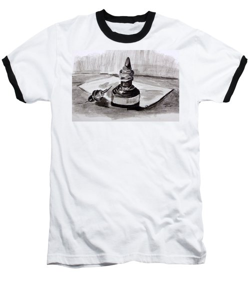 Pen And Ink Baseball T-Shirt