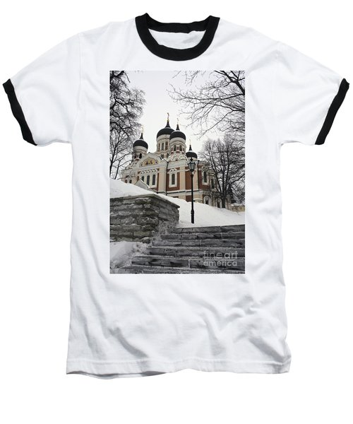 Tallinn Estonia Baseball T-Shirt