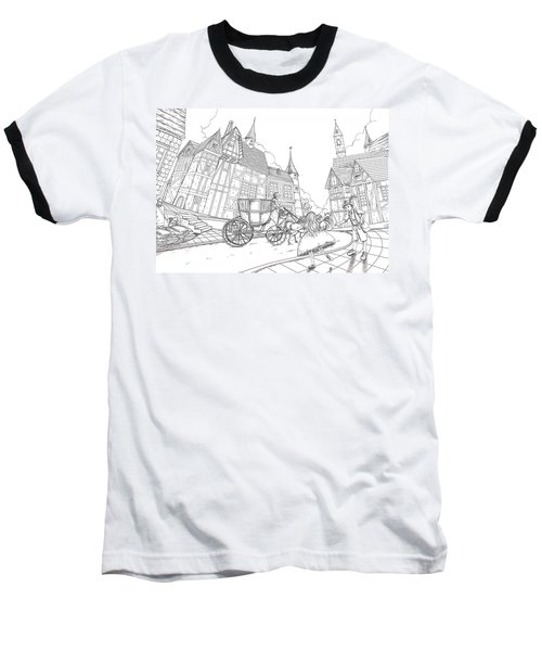 The Bavarian Village Baseball T-Shirt