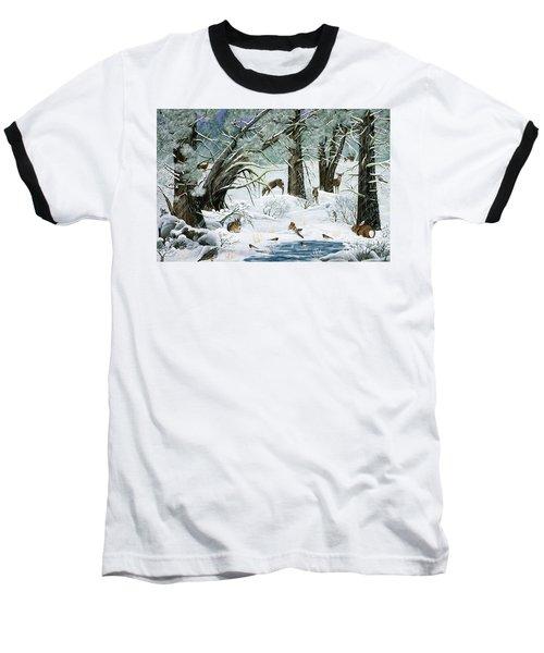 They Said It Wouldn't Snow Baseball T-Shirt