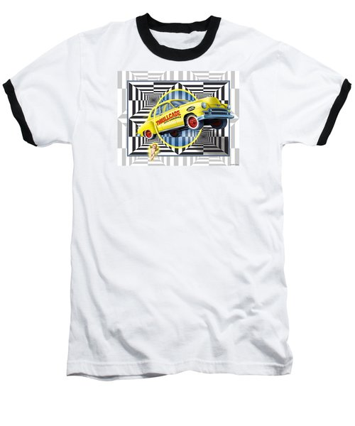 Thrillcade Baseball T-Shirt by Scott Ross