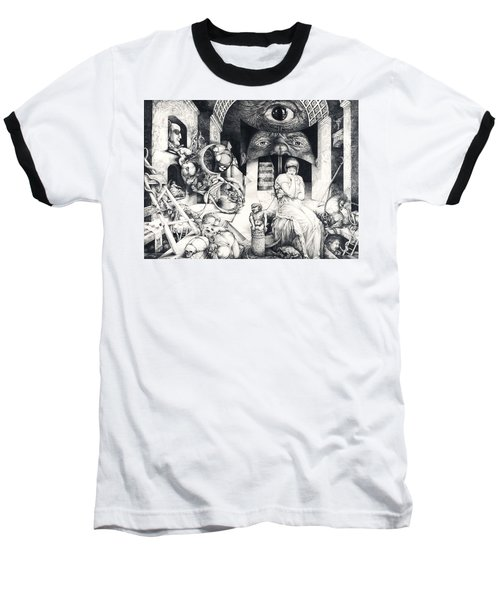 Vindobona Altarpiece IIi - Snakes And Ladders Baseball T-Shirt