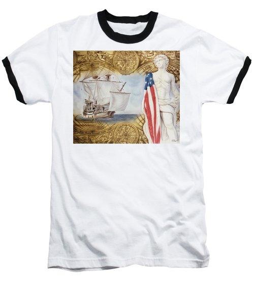Visions Of Discovery Baseball T-Shirt