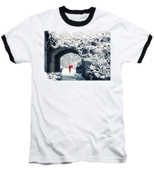 Winter's Lace Baseball T-Shirt