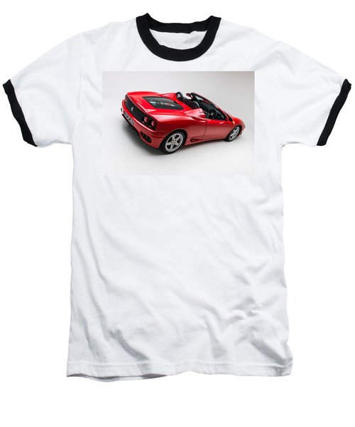 Baseball T-Shirt featuring the photograph 2002 Ferrari 360 Spider by Gianfranco Weiss