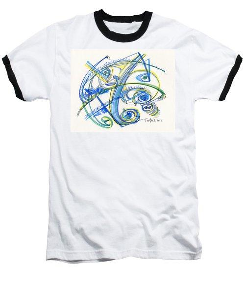 2012 Drawing #33 Baseball T-Shirt by Lynne Taetzsch