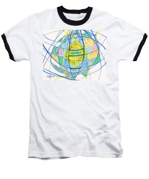 2013 Abstract Drawing #2 Baseball T-Shirt