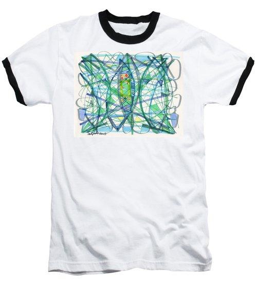 2013 Abstract Drawing #23 Baseball T-Shirt