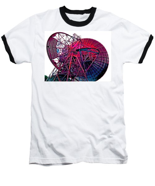 26 East Antenna Abstract 4 Baseball T-Shirt