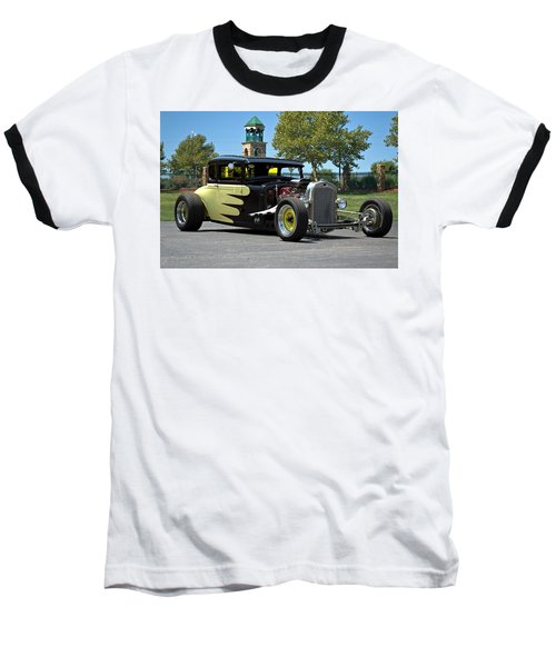 1930 Ford Coupe Hot Rod Baseball T-Shirt by Tim McCullough
