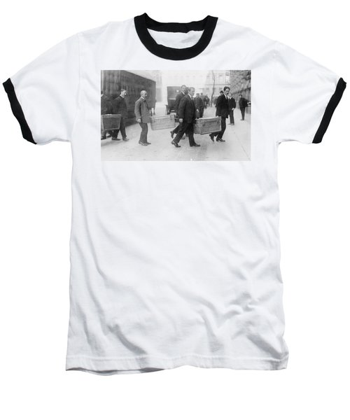 Baseball T-Shirt featuring the photograph Germany Inflation, 1923 by Granger
