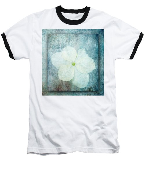 Hydrangea Baseball T-Shirt by Lynn Bolt