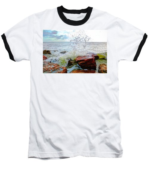 Quintana Jetty Baseball T-Shirt by Savannah Gibbs