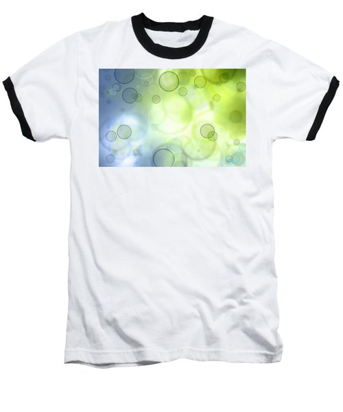 Abstract Background Baseball T-Shirt by Les Cunliffe