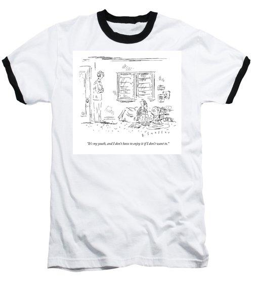 It's My Youth Baseball T-Shirt