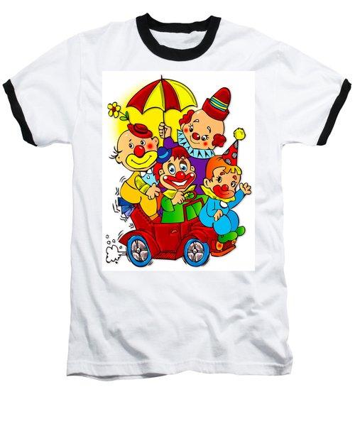 Clowns Series 01 Baseball T-Shirt