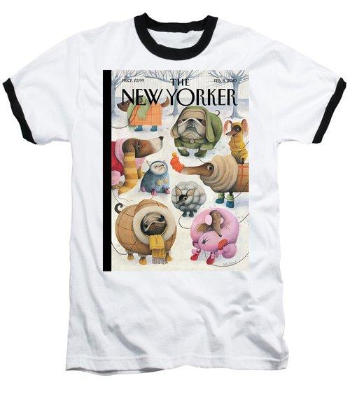 New Yorker February 8th, 2010 Baseball T-Shirt