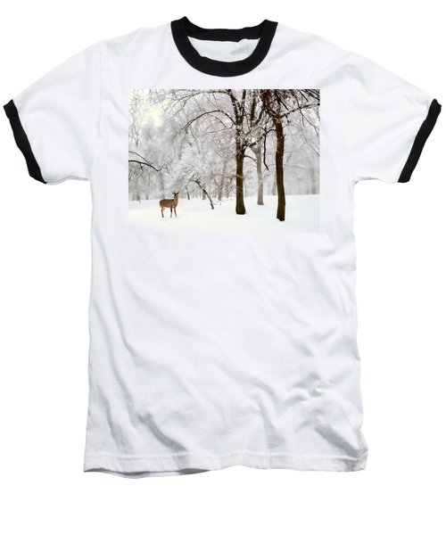 Winter's Breath Baseball T-Shirt