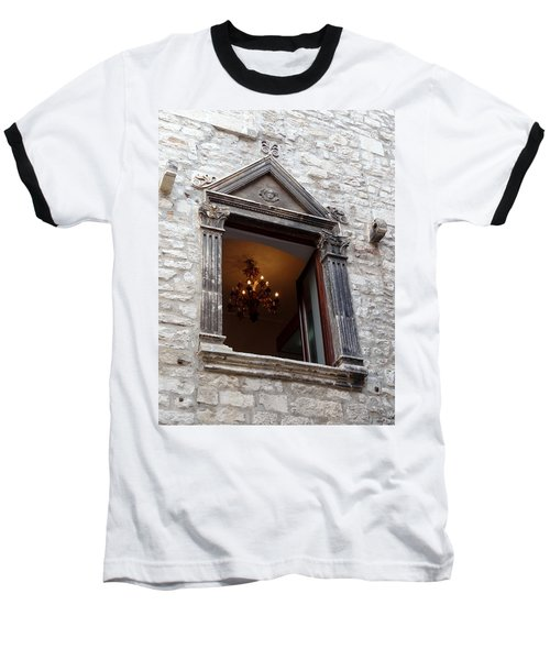 Views Of Split Croatia Baseball T-Shirt