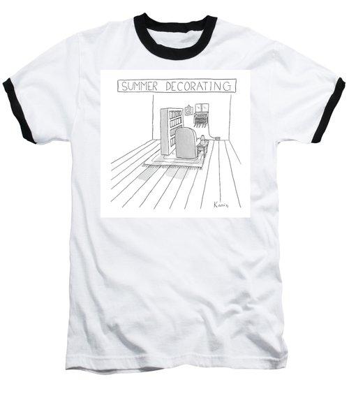 Summer Decorating Baseball T-Shirt
