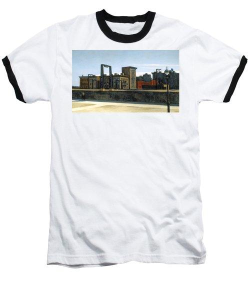Manhattan Bridge Loop Baseball T-Shirt