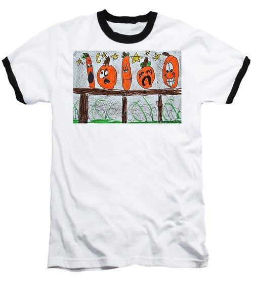 5 Little Pumpkins Baseball T-Shirt