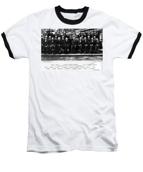 5th Solvay Conference Of 1927 Baseball T-Shirt