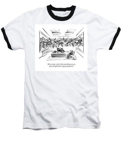 All We Know So Far Is That Something Seems Baseball T-Shirt