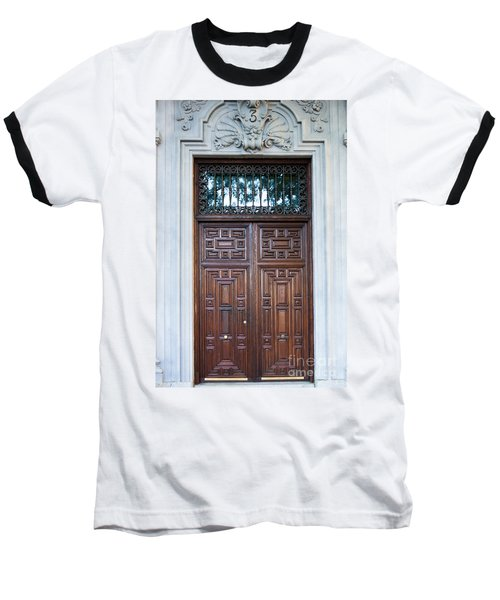 Distinctive Doors In Madrid Spain Baseball T-Shirt