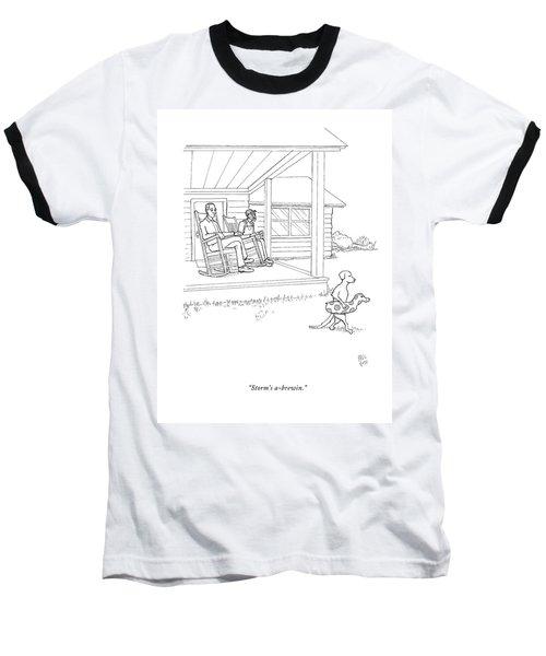 Storm's A-brewin Baseball T-Shirt