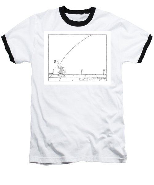 Tiny Grand Piano From Outer Space! Baseball T-Shirt